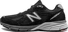 Мужские кроссовки New Balance M990BK4 Black, Нью беланс 990