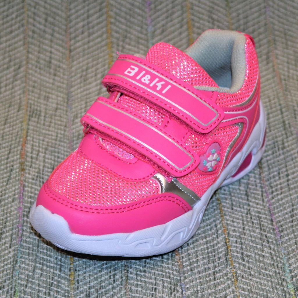 Мигающие кроссовки, девочка, BIKI размер 27 29
