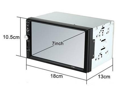 Автомагнитола MP5 2DIN 7012 Little USB  + рамка | Автомобильная магнитола | USB+Bluetoth+Камера, фото 2