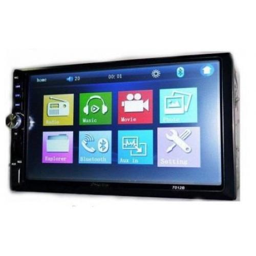 Автомагнитола MP5 2DIN 7012 USB  + рамка   Автомобильная магнитола   USB+Bluetoth+Камера
