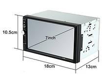 Автомагнитола MP5 2DIN 7012 USB  + рамка   Автомобильная магнитола   USB+Bluetoth+Камера, фото 2
