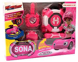 Игровой набор Лига ВотчКар Битвы Чемпионов машинка Сона Игра WatchCar Sona(Yari)