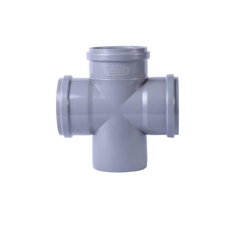 Крестовина канализационная TA Sewage 50х50х50х50, 90°