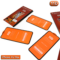 Защитное стекло iPhone Xs Max - 11D Полная поклейка, фото 1