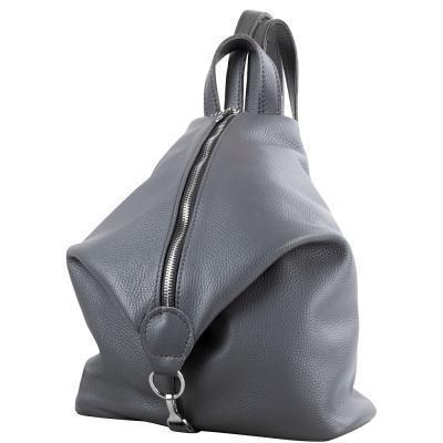 Сумка-рюкзак ETERNO Женская кожаная сумка-рюкзак ETERNO (ЭТЕРНО) AN-K135-grey