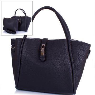 Сумка повседневная (шоппер) Amelie Galanti Женская сумка из качественного кожезаменителя AMELIE GALANTI (АМЕЛИ ГАЛАНТИ) A981121-black