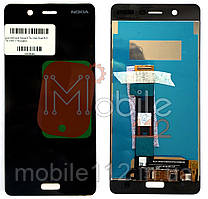 Модульный дисплей Nokia 5 Dual Sim TA-1053 TA-1024 Экран + тачскрин черный