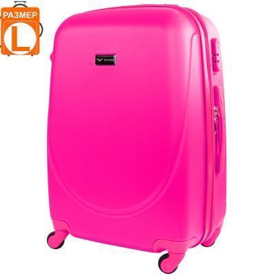 Чемодан Wings Чемодан большой на 4-х колесах WINGS (ВИНГС) JAKW310L-pink