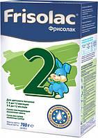 Смесь сухая молочная Friso Фрисолак 2 с 6 до 12 месяцев 700 г (2х350 г)