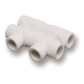 Распределительный узел из PPR Ekoplastik 20х20 мм
