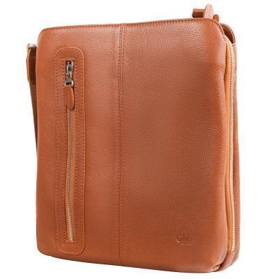 Сумка-планшет Grass Мужская кожаная сумка-планшет GRASS (ГРАСС) SHI-864-16