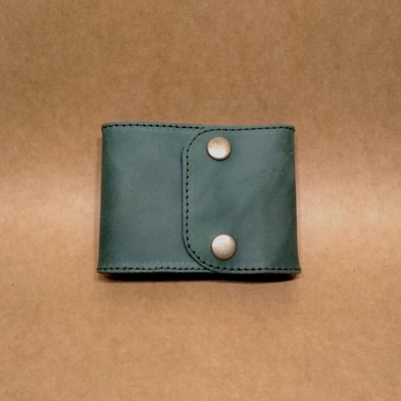 Кожаный кошелек. Портмоне из натуральной кожи.