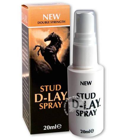 000050 / Stud D-Lay Spray / Спрей 20 мл, фото 2