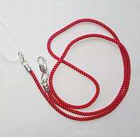 Красный шелковый шнурок Оберег, фото 1