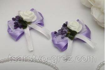 Бутоньерка Flowers purple