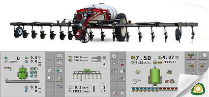 Системы управления высевом и внесением продуктов
