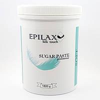 М'яка цукрова паста ТМ Epilax silk touch 1800 гр