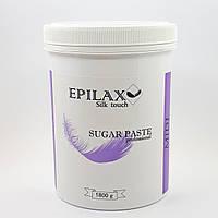 Средняя паста для шугаринга ТМ Epilax silk touch 1800 гр