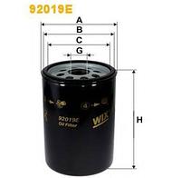 Фильтр масляный MAN L/M2000 (WIX)