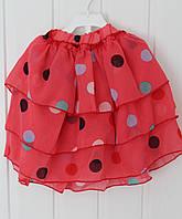 Юбка шифоновая для девочки 5 лет