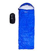 Спальный мешок одеяло с капюшоном Outdoor  200 гр/м2