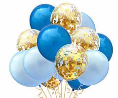 Набор воздушных шаров 011 (30 см - 15 шт)