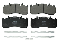 Тормозные колодки компл. передн./задние RVI MIDLUM; VOLVO FH, FH 16, FL II D13A400-DXi7 09.05