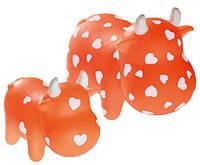 Игрушка Hunter Корова оранжевая, 13см