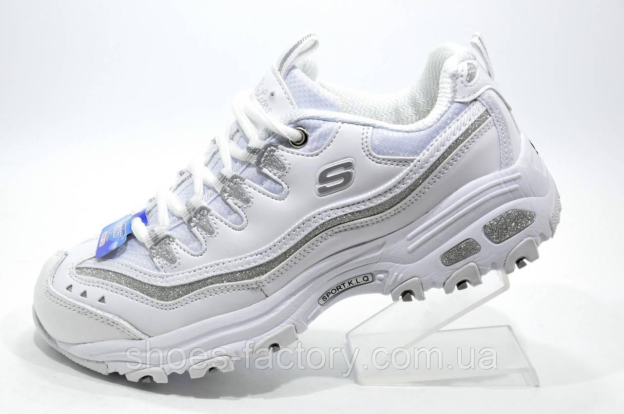 Женские кроссовки D'lites, White\Белые