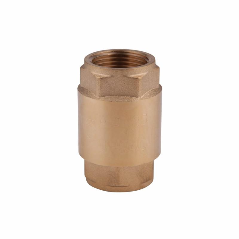 "Обратный клапан SD Forte с латунным штоком 1"" 1/4 Euro"