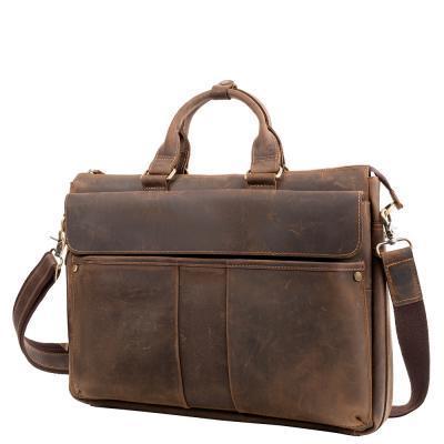 Портфель ETERNO Портфель мужской кожаный с карманом для ноутбука ETERNO (ЭТЭРНО) RB-T1096