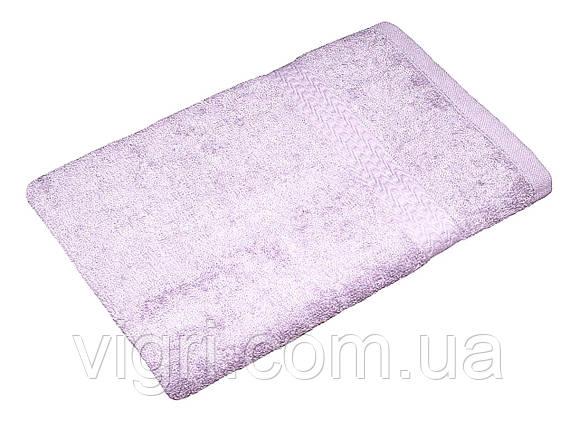 Полотенце махровое Азербайджан, 50х90 см., светло сиреневое, фото 2