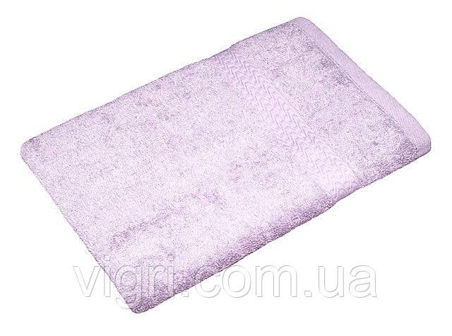 Полотенце махровое Азербайджан, 50х90 см., светло сиреневое