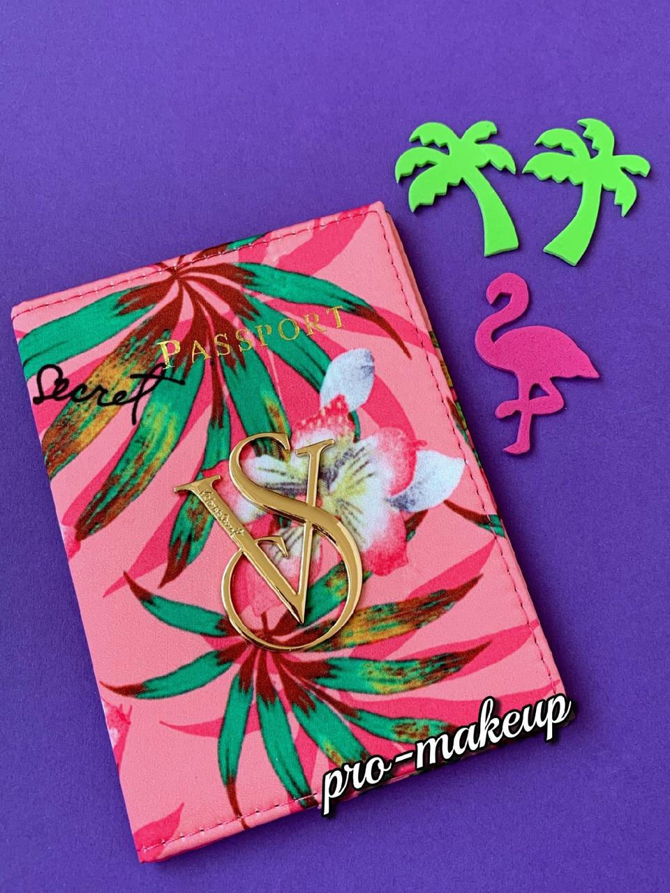 Обложка для паспорта Victoria's Secret (цветной)