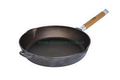 Сковорода чугунная со съемной ручкой Биол 28 см 1228