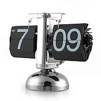 Перекидные часы Flip Clock Черные, фото 1