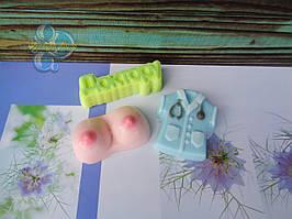 """Подарочный набор мыла """"Маммологу"""" вариант 1"""