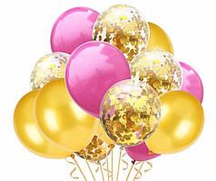 Набор воздушных шаров 012 (30 см - 15 шт)