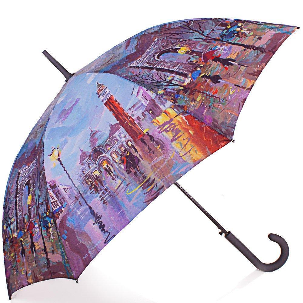 Зонт-трость Zest Зонт-трость женский  полуавтомат ZEST (ЗЕСТ) Z216255-77