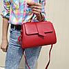 "Женская повседневная сумка-саквояж красная ""Каталина Red"""""