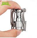Туристическая газовая горелка BRS-3000T горелка из титана. Туристичний газовий пальник., фото 5