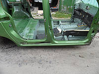 Порог правый (Универсал) Renault Kangoo II new 08-12 (Рено Кенго 2), 7751478342