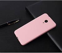 Чехол Style для Meizu M6s Бампер силиконовый розовый