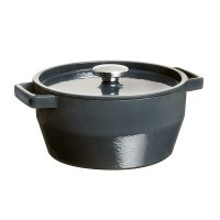 Кастрюля PYREX Slow Cook grey чугун кастрюля кругл 3.6л  (SC4AC24)