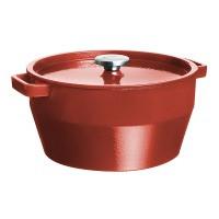 Кастрюля PYREX Slow Cook red чугун кастрюля кругл 6.3л  (SC5AC28)