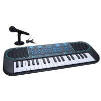 Муз.инст FIRST ACT DISCOVERY ELECTRONIC KEYBOARD BLUE STARS пианино с микрофон.