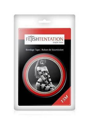 Скотч для бондажа Fetish Tentation Red, фото 2