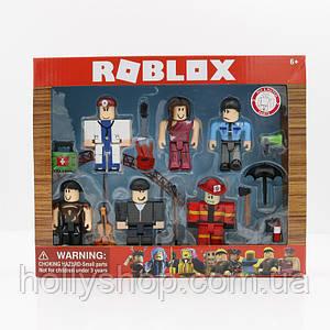 Набір фігурок Roblox «Професії»: 6 фігурок і предмети