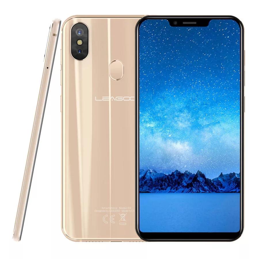 Смартфон Leagoo S9 Gold 4\32Gb 8ядер And 8.1 + чехол
