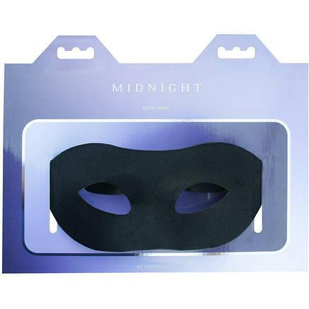 Маска на глаза Sportsheets Midnight Satin Mask, фото 2